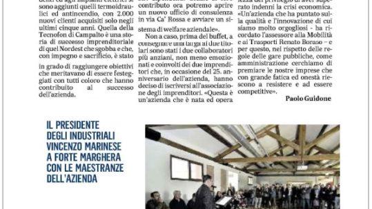 Articolo Gazzettino